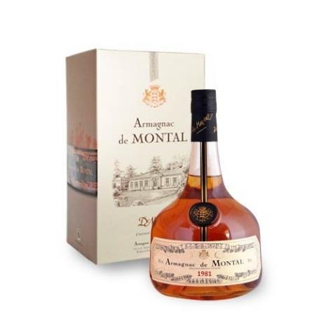 Armagnac, Bas Armagnac - de Montal - 1981