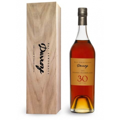 70 cl Wooden case